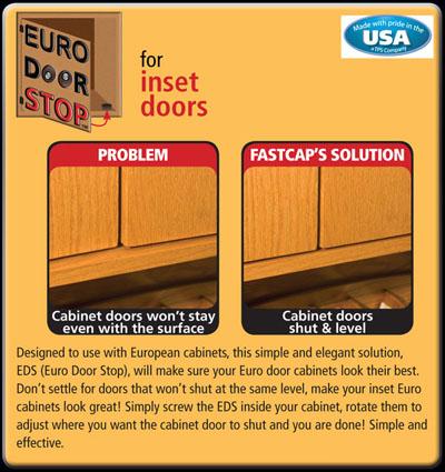 Georgia Hardwoods Inc Fastcap Euro Door Stop